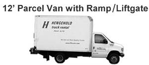 12 Parcel Van with Ramp